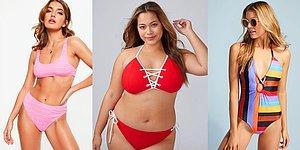 Bu Yaz Plajın En Gözde Kadını Olmak İsteyenlerin Kaçırmaması Gereken 18 Bikini ve Mayo Modeli