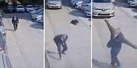 Yolda Yürürken Kargaların Saldırısına Uğrayan Adam