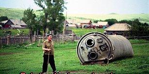 Ata Toprağı Altay Dağları'na 70 Yıldır Rus Uzay Araçlarının Enkazı Düşüyor. Peki Korkusuz Halk Ne Yapıyor?