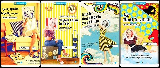Pucca, hepimizin bildiği gibi Türkiye'nin ilk fenomen blogger'larından biri… Özel hayatını cesurca paylaştığı yazılarının ardından dizüstü edebiyatı serisinden kitaplar çıkarmış ve hayatını paylaşmaya devam etmişti.