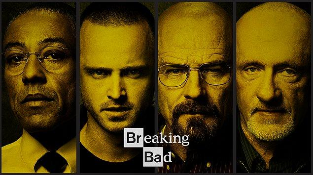 1. 2008 yılında yayına giren ve izleyiciyi ekrana adeta kilitleyen bir diziden bahsediyoruz. Breaking Bad!