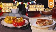 Köri ❤️ Tavuk! Hem Şık Hem Lezzetli: Körili Tavuklu Biber ve Tavuklu Pide Tost Nasıl Yapılır?