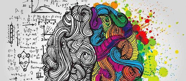 3. Beyninin sağ tarafını kullanan birisi hangi alanlarda daha iyidir?