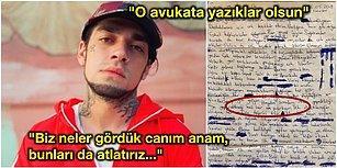Şarkılarıyla 'Uyuşturucuyu Özendirmek' Suçundan Cezaevinde Tutuklu Bulunan Ezhel'den Mektup Var!