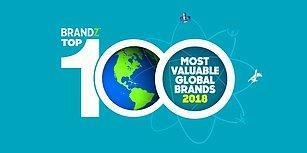 Dünyanın En Değerli 100 Markası Açıklandı!