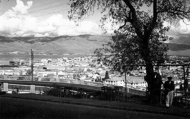 18. Varyant'tan İzmir manzarası (1960'lar)
