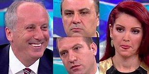 Muharrem İnce'nin Haber Türk Canlı Yayın Performansını Mizahıyla Süsleyen 19 Kişi