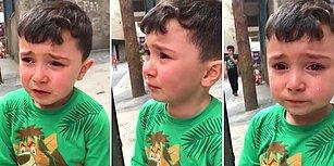 Arkadaşları Galatasaray'a Ezik Dedi Diye Gözyaşlarına Boğulan Ufaklık