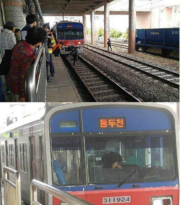 Bir kadının trenin önüne atlamasıyla treni durduramayan ve onu öldürmekle kendini suçlayan makinist...