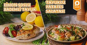 Mis Lemon Ferahlığı Sofraya Geldi: İftarlık Limon Soslu Bademli Tavuk ve Sahurlık Tavuklu Patates Salatası Nasıl Yapılır?