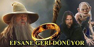5 Sezonluk Onayı Alınan Yüzüklerin Efendisi Dizisi Aragorn'un Gençliğine Odaklanacak!