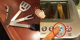 Pratik Çözümleri ve Yenilikçi İcatlarıyla Gelecekten Gelmiş Gibi Duran 15 Mutfak