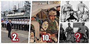 Türkiye Listede! İnsan ve Silah Gücüne Göre Dünyanın En Güçlü 25 Ordusu