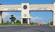 Akdeniz Üniversitesi 2018 Taban Puanları ve Başarı Sıralamaları