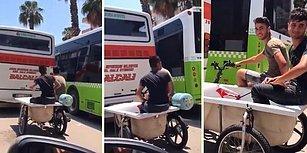 Adana'da Sıradan Bir Gün: İçi Su Dolu Küvet ile Motor Yolculuğu