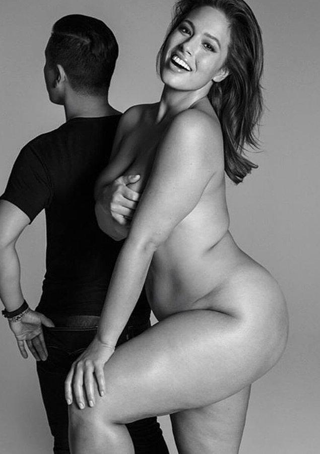7. Büyük beden model Ashley Graham, vücudunu gizleme gereği duymayanlardan.