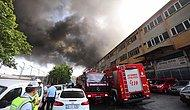 İstanbul'da Büyük Yangın: Davutpaşa'daki Kumaş ve İplik Fabrikasından Alevler Yükseldi
