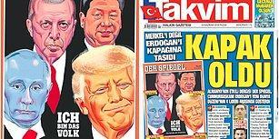 Takvim Gazetesi Medya Tarihine Geçti: 4 Lider Manşeti 'Pes Artık' Dedirtti