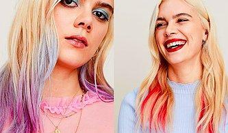Canlı Renklerle Makyaj Saçlara Taşındı! Artık İstediğin Gibi Renklerle Oynayabileceksiniz!