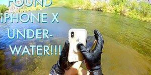 2 Hafta Boyunca Suyun Altında Kalan iPhone X Çalıştı!