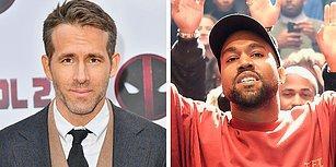Kanye West'in Deadpool Film Müziği Paylaşımını Kendine Yakışır Şekilde Trolleyen Ryan Reynolds