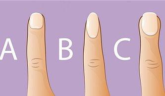 Parmaklarınızın Şekli Karakterinizi Yansıtır! Peki Sizin Parmağınız Nasıl Bir Karaktere Sahip?