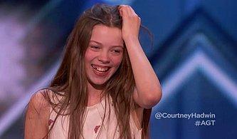 Amerika Yetenek Yarışmasındaki Performansı ile Çok Büyük Şarkıcı Olacağını Kanıtlayan 13 Yaşındaki Yarışmacı