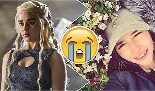 Game of Thrones'un Khaleesi'si Emilia Clarke'ın Final Çekimleri Sonrasındaki Dokunaklı Vedası!