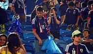 Hem Maçı Hem Gönülleri Kazandılar! Japon Taraftarlar, Kolombiya Maçının Ardından Tribünleri Temizledi