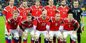 Rusya 2018 Dünya Kupası Kadrosu
