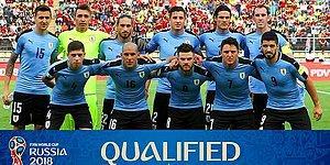 Uruguay 2018 Dünya Kupası Kadrosu