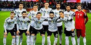 Almanya A Milli Futbol Takımı 2018 Dünya Kupası Kadrosu