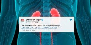 CNN Türk'ün 'Tek Böbrek' Haberi Sosyal Medyanın Gündeminde: 'Ekonomik Kriz Haberleri İyice Değişti'