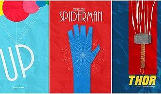 Bunlara Bayılacaksınız! Türk Tasarımcıdan İlham Verici 32 Minimalist Film Afişi Tasarımı