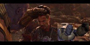 Avengers Infinity War'daki Thanos vs Iron Man ve Dr. Strange Savaşının Kamera Arkası