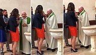 Vaftiz Sırasında Ağlayan Bebeğe Tokat Atan Rahip