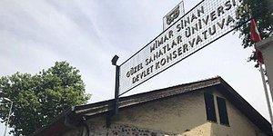 Mimar Sinan G.S.Ü Devlet Konservatuvarı'na Tahliye Talimatı: 'Çıkmazsanız Elektriğinizi, Suyunuzu Keseriz'