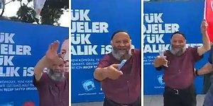 'Laiklik Elden Gidiyyah' Diyen Dayıya Diş Fırçası Uzatarak Efsane Troll'leyen Adam