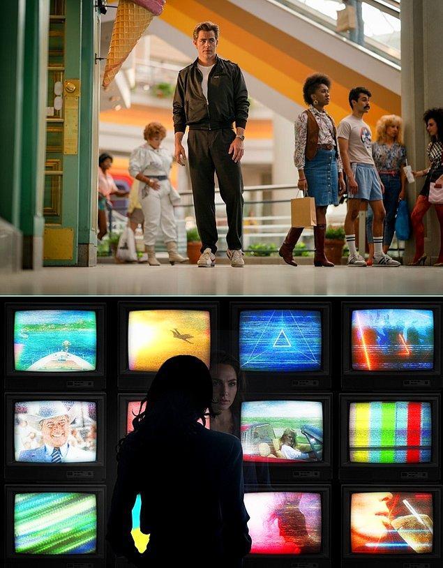 1984 yılında geçen filmde Chris Pine da rol alıyor.