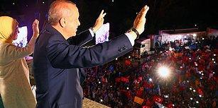 #Seçim2018 | Erdoğan Balkon Konuşmasını Yaptı: 'Milletimizin Verdiği Mesajı Aldık, Eksiklerimizi Tamamlayacağız'