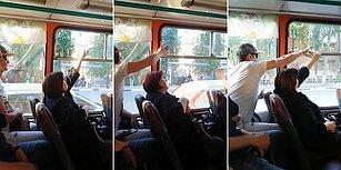 Otobüste Yaptıkları Cam Açma Kapama Kavgasıyla Tuhaflıkta Zirve Yapan Yolcular