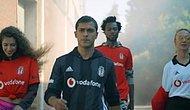 """Beşiktaş Yeni Sezon Formalarını Tanıttı: """"Bu Hayat Bir Maçsa, Her Gün Giy Formanı, Beşiktaş Gibi Oyna!"""""""
