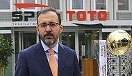 Spor Toto Teşkilat Müdürü Mehmet Muharrem Kasapoğlu Gençlik ve Spor Bakanı Oldu! Peki Kasapoğlu Kimdir?