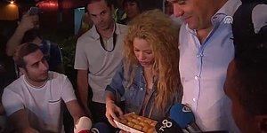 Shakira'yı 'Hav Ar Yu'lar ve Baklava ile Karşılayan Yurdum İnsanı