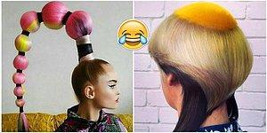 Gözlerimiz Kanadı! Kötü Saç Stilleriyle Modadan İğrendiren 34 Değişik İnsan
