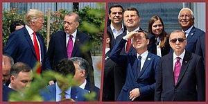 2018 NATO Liderler Zirvesi'nde Öne Çıkanlar: Erdoğan'ın Pozu, Atak Helikopteri ve Trump