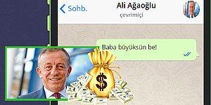Whatsapp'ta Ali Ağaoğlu'ndan Para Koparabilecek misin?