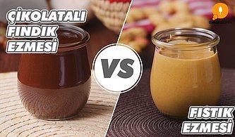 Kahvaltı Aşıklarının Seçmesi En Zor İki Tatlı: Çikolatalı Fındık Ezmesi vs Fıstık Ezmesi Nasıl Yapılır?