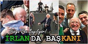 Adeta Tonton Bir Dede! İrlanda'nın 77 Yaşındaki Pamuk Gibi Başkanı Michael D. Higgins