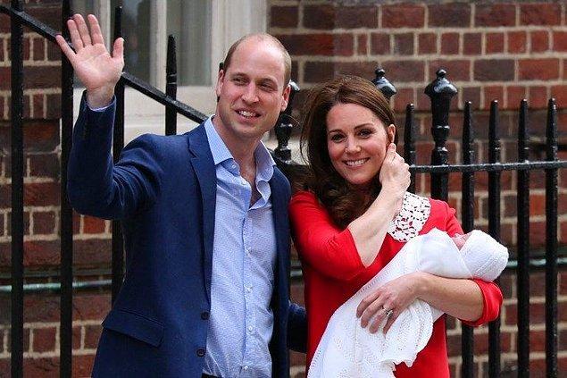Prens George ve ablası Prenses Charlotte'tan sonra tahtın beşinci varisi olan Prens Louis Kensington Sarayı'nın Twitter hesabından yapılan açıklamada, 3 kilo 800 gram ağırlığında dünyaya gelmişti.